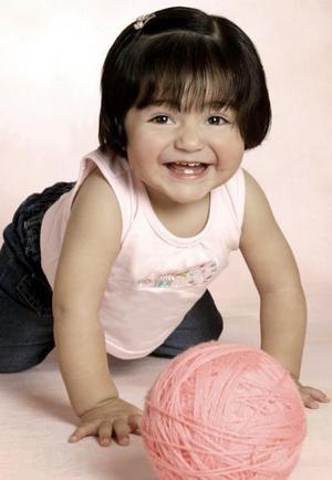 Ana Sofía Vielma Gómez, en una foto de estudio.