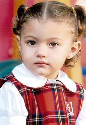 Mariana Montellano Chávez cumplió tres años el 28 de febrero