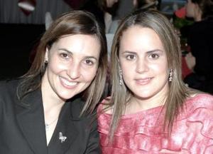 Mariana de Portilla y Brenda de Villalobos.