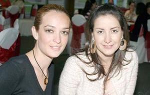 Paulina Dibidox y Lucero Vázquez.