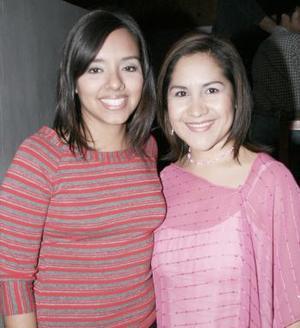 Joanna de la Cruz y Rocío Rivera.