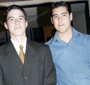 Rafael Pacheco y Francisco Rubio.