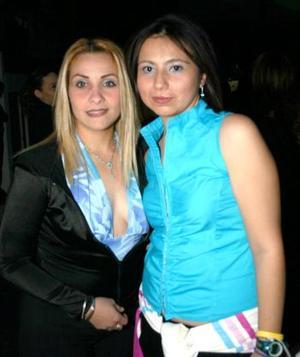 Lily García y Jimena Gámez.