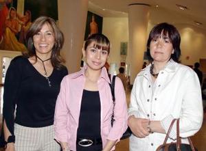 Brenda Castellanos, Rocío Rodríguez y Pilar Rodríguez