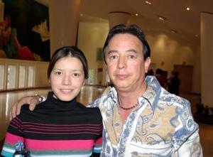 <b>28 de febrero de 2005</b> <p> Paty Lindan y Sergio Lindan.