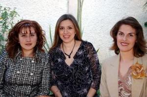 Mónica Orduña, Lorena de Ávalos y Ángeles de Calderón