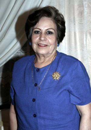 Petrita Cano de Álvarez festejó su cumpleaños con una agradable reunión que le organizaron sus hijos