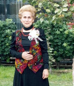 Magdalena Tejeda de Braña, captada el día que celebró su cumpleaños.