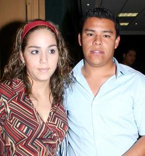 Siberia Salazar Ganem y Victor Flores García