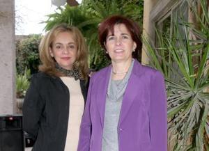 Miriam Pérez y Matilde García.