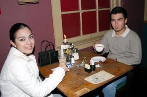 Margarita Alvarado y Luis Meléndez.
