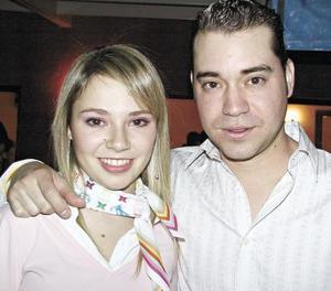 Araceli Martínez y Damián Aguilera