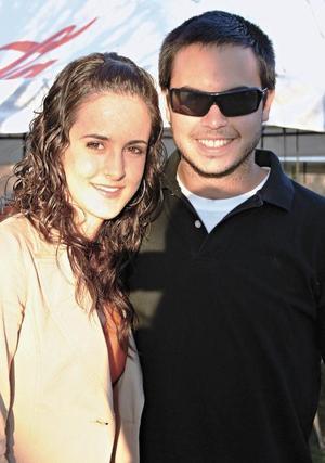 Lucía Saenz e Iván Ortiz