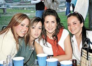 Ana Yolú Barranco, Ana Echávez, Lucero Velásquez y Marisú del Bosque