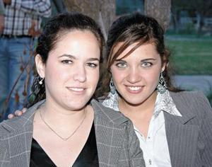 María Angélica Amarante y Sofía Acosta