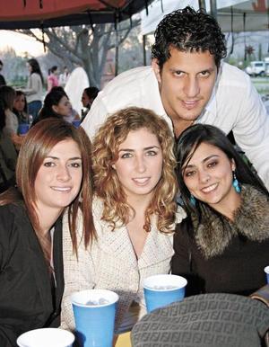 Antonio de la Fuente, Neni Villarreal, Angelina Siller y Eva Sofía Gurza
