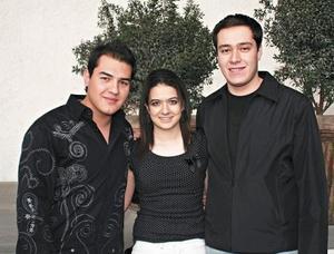 Ahlan Gallardo, Adla Karam y Guillermo Robles