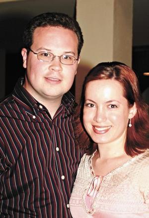 Rodrigo Pérez y Claudia Valdez de Pérez