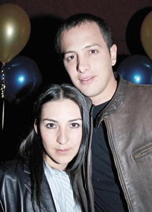 Marcela Muñoz y Cristian Wolf