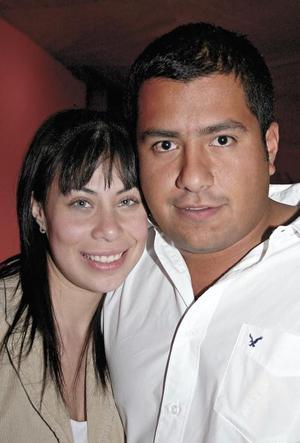 Sarahi Fahur y Jorge Lopez