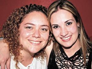 Fátima Pérez Vertí y Marcela Marrero