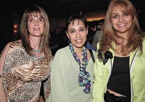Laura de Quintero, Martha de Llama y Lucía de Ramos