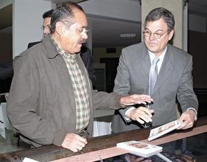 Roberto Martínez González y Fernando Llama Alatorre