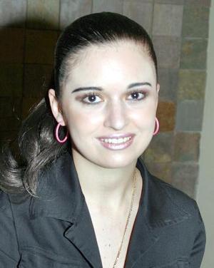 Alejandra Saravia Galván.