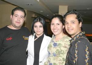 Luis García, Jéssica Rodríguez, Lily Castorena y Érick Medellín.