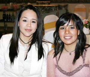 <b>05 de marzo </b> <p> Eva Corral y Azucena Rubio.