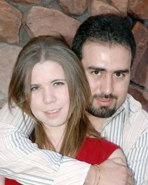 <b>05 de marzo </b> <p> Natalia García y Alejandro Zavala.