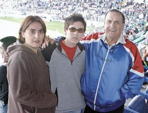 Mónica, Jorge y Alejandro Diez