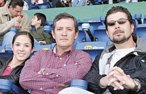 María del Pilar Roel, Javier Roel y Eddy Gamma