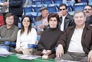 Bernardo Gurza, Sofía García Camil, Io Camil de García y José A. García Triana