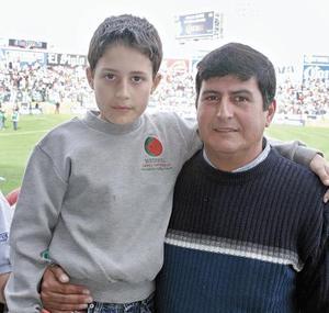 Juan Carlos Llamas y Juan Carlos Llamas Silva