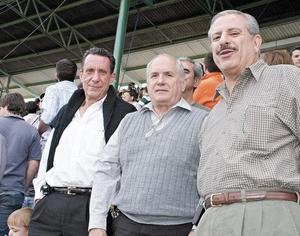 Antonio Juan Marcos, Antonio Burillo, José Cárdenas y Salomón Juan Marcos