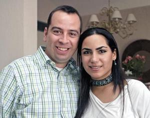 Jorge Anaya y Alejandra Soltero