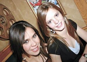 Katia Nahle y Maryfer Núñez