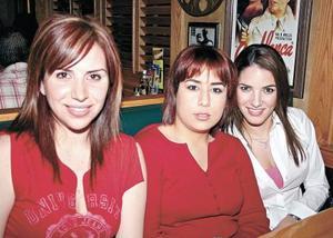 Elorsa Hernández, Tily Campa y Ana Lucía Fernández