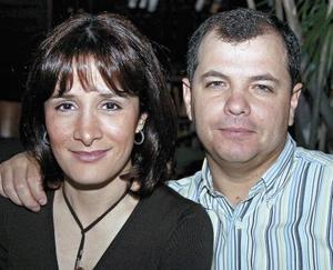 Ana Laura y Jorge Garza