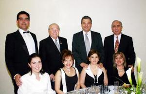 Ángel Morales Salazar y Dalia de Morales, Ángel Morales y Elisa de Morales, Fernando Llama y Patricia de Llama, Jesús Zavala y Marisa de Zavala
