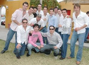Jorge, Lalo, Alex,Blas, David, Daniel, Jorge, Nico, Carlos y Beto entre otros.
