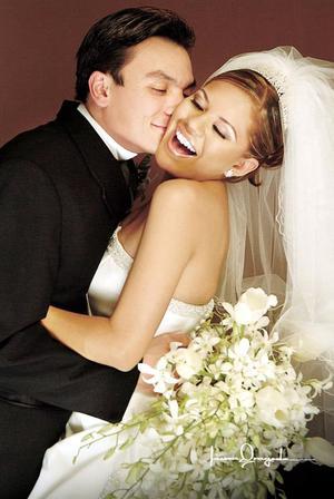 Ing. Flavio Christian  Lam Rueda e Ing. María de Jesús  Nájera se casaron el día cinco de febrero en la parroquia del Sagrado Corazón.