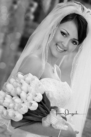 Lic. Iraida Anaya Trevizo el día de su enlace nupcial con el M.B.A. Ryan Ladner