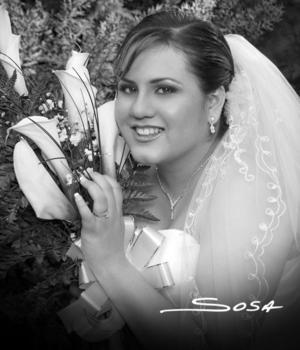 Srita. Martha Araceli Lozano Oropeza, unió su vida en el Sacramento del matrimonio a la del Sr. Omar Enoc Rangel Primero.
