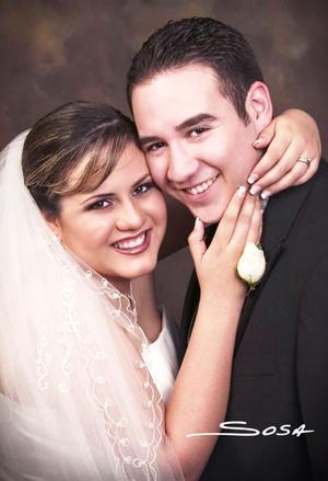 Sr. Omar Enoc Rangel Primero y Srita. Martha Araceli Lozano Oropeza contrajeron matrimonio religioso en la parroquia Los Ángeles el 22 de enero de 2005 .