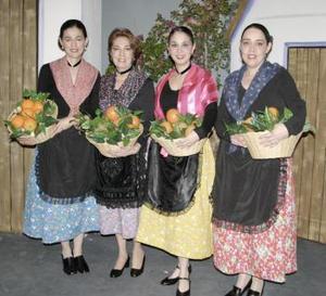 Ale de Sicarios, Elena F. de Fernández , Ale de Fernández y Cristina de Castro.