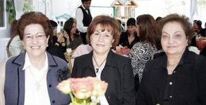 Enna de Murra, Queta Jáuregui y Márgara Duéñez.
