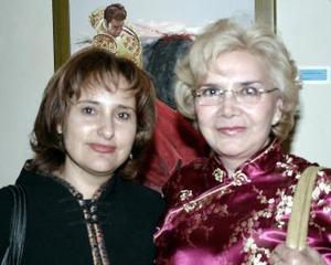 Alicia de Reveles y Silvia Rojo de Juárez.