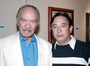 Ramón Reveles y Sergio Lindan.